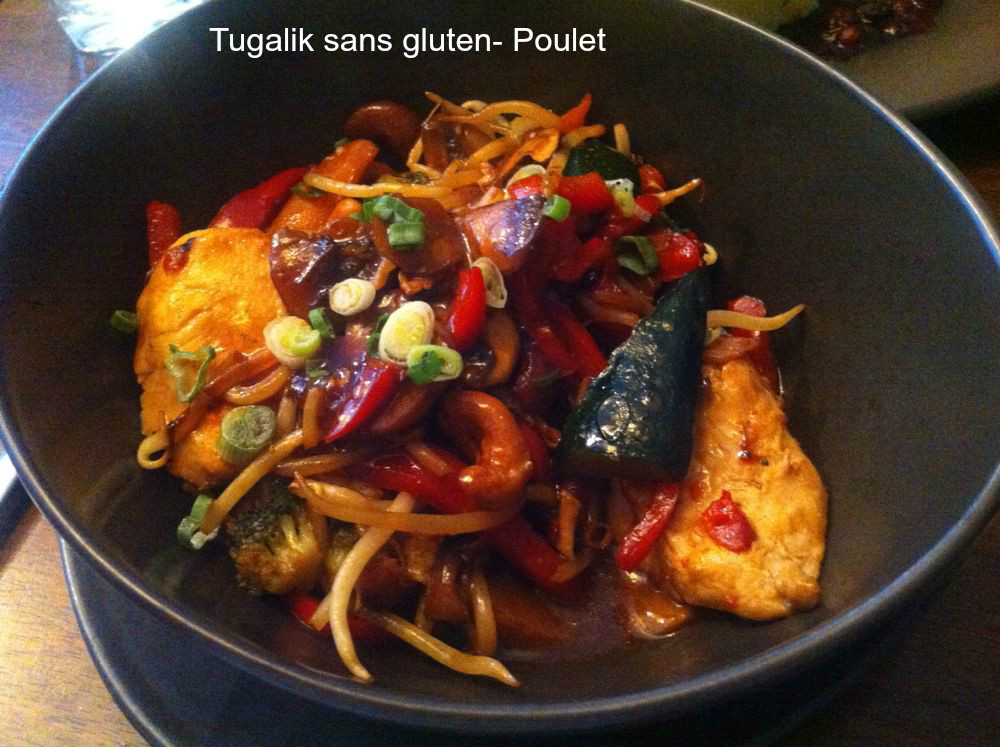 J'ai diné au restaurant «Tugalik»