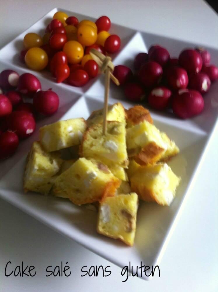 Cake olives feta sans gluten