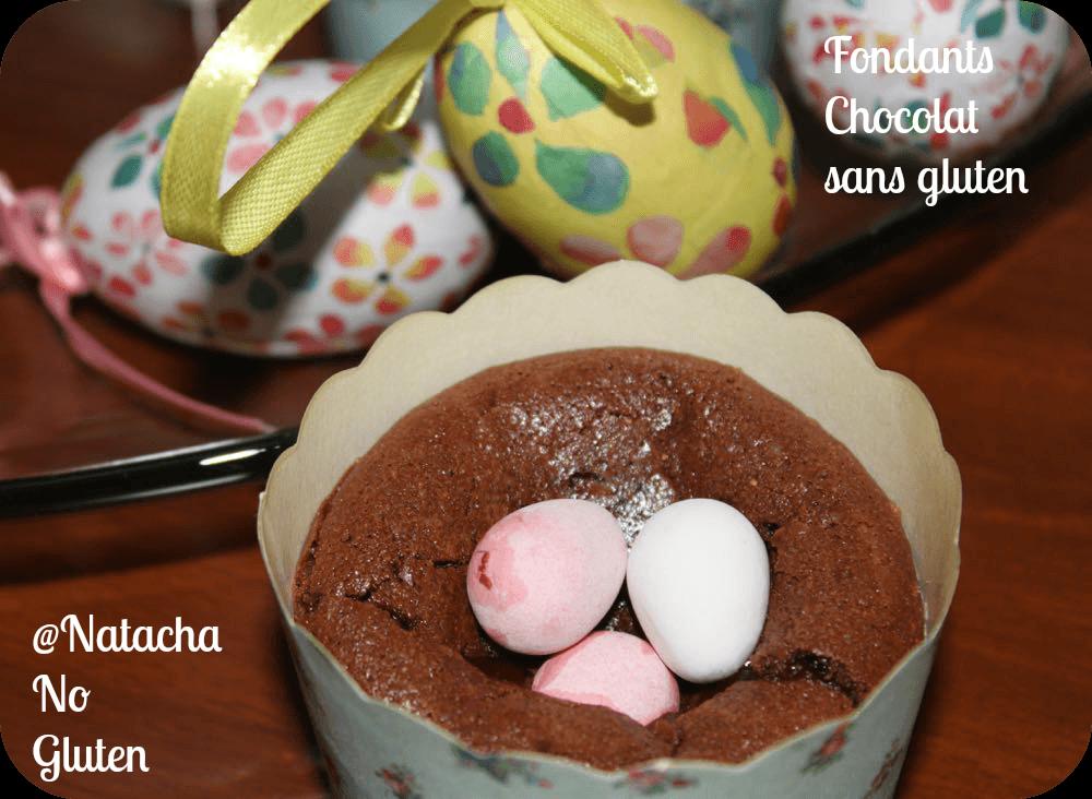 Fondant Chocolat sans Gluten 2015