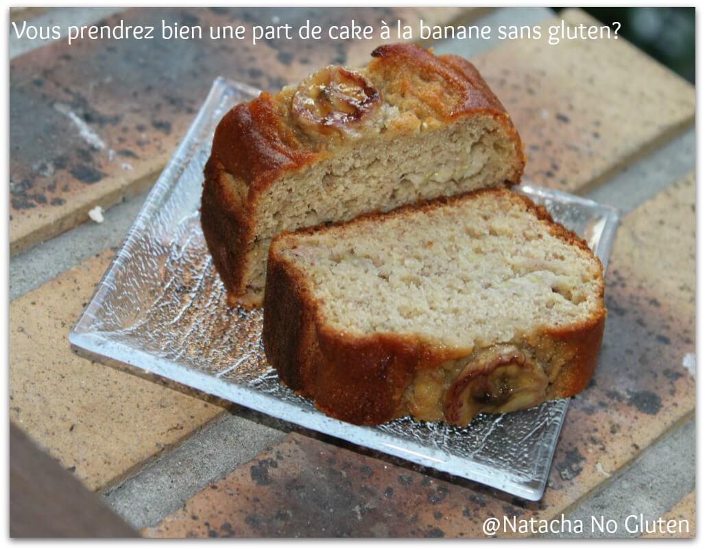 Cake banane sans gluten (2014)
