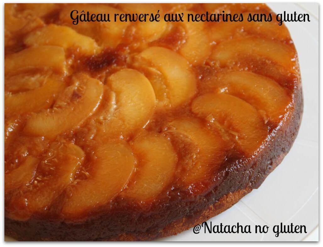gateau-renverse-nectarines-sans-gluten