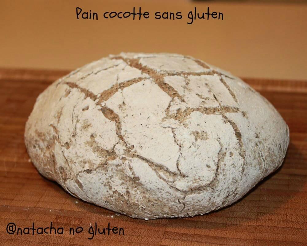 Pain cocotte sans gluten