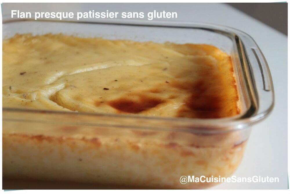 Flan patissier sans gluten ma cuisine sans gluten - Je cuisine sans gluten ...