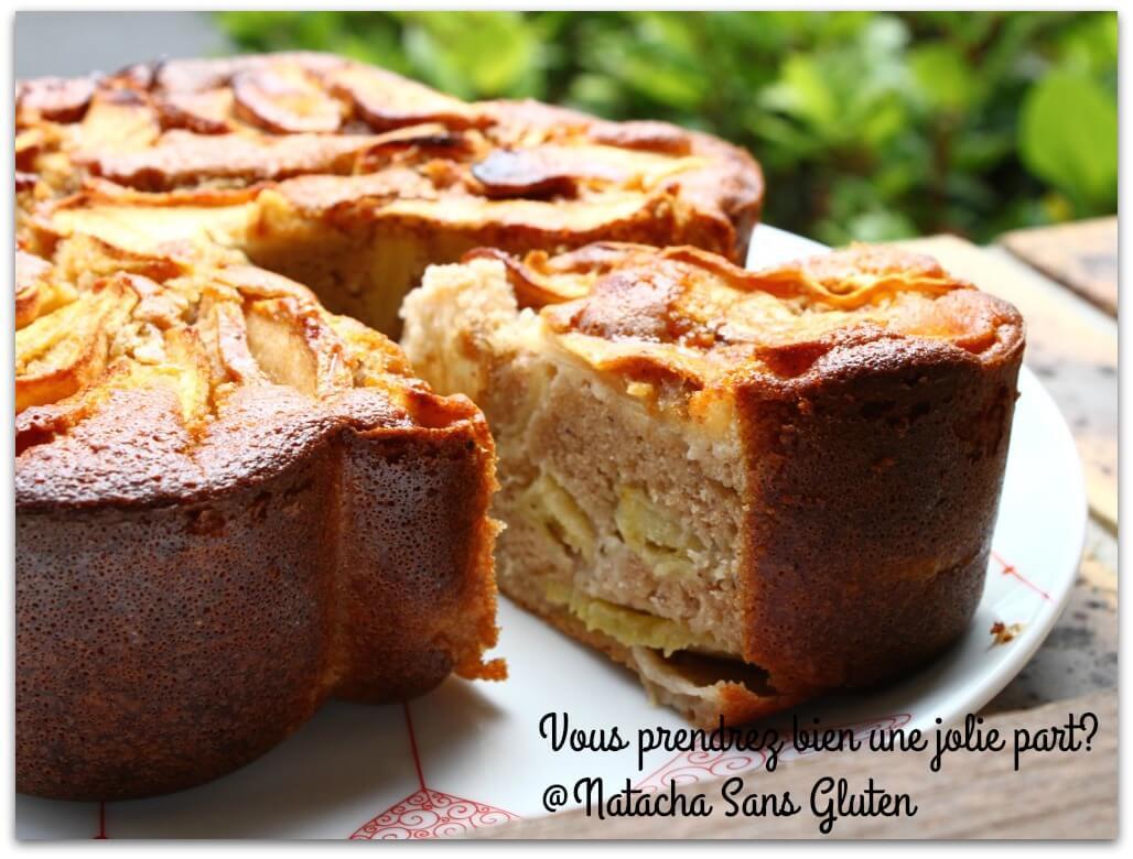 Cake Au Pommes Farine De Riz