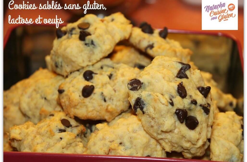Cookies sablés sans gluten, lactose et oeufs (concours NIEPI terminé)