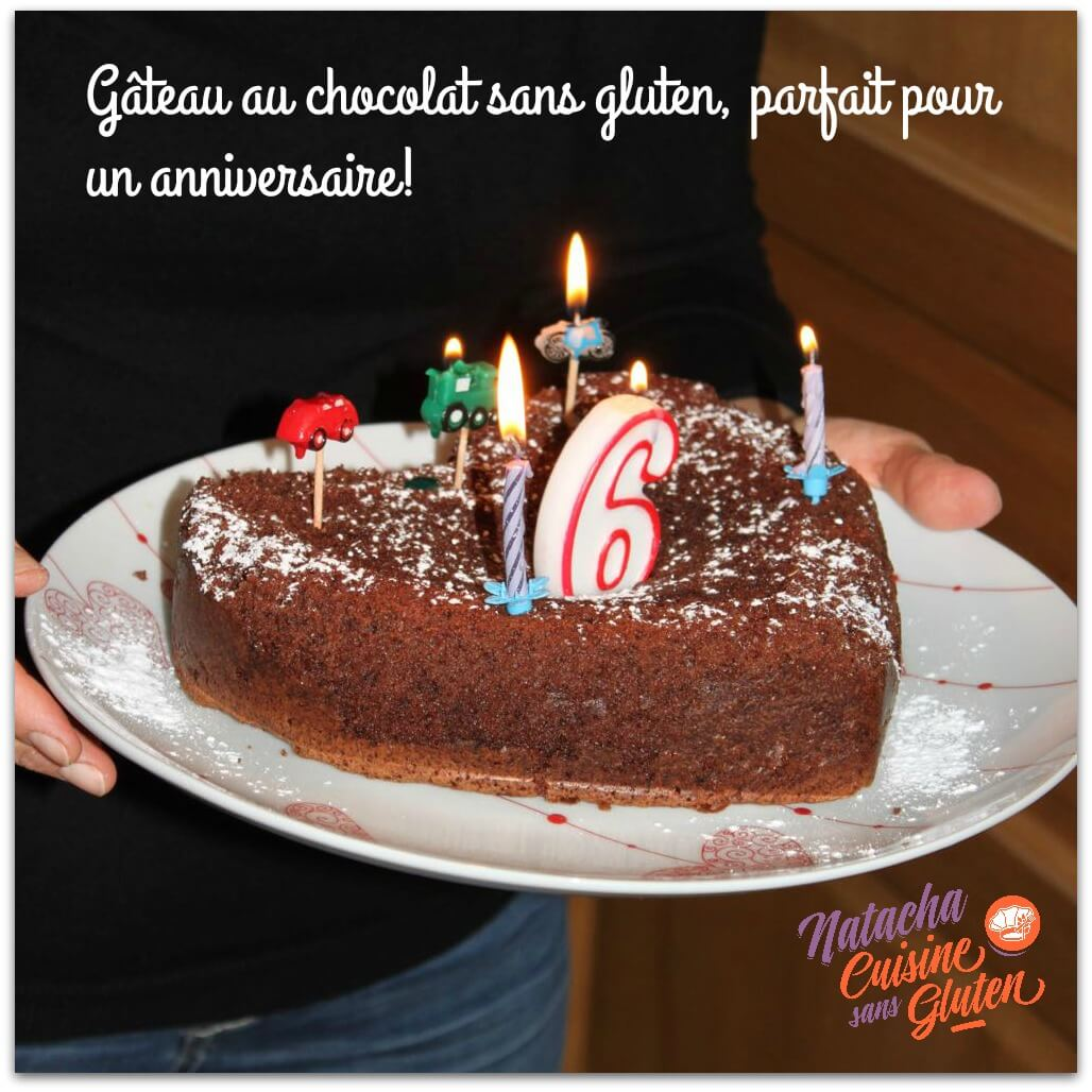 G teau au chocolat sans gluten ma cuisine sans gluten - Gateau au chocolat sans sucre ...