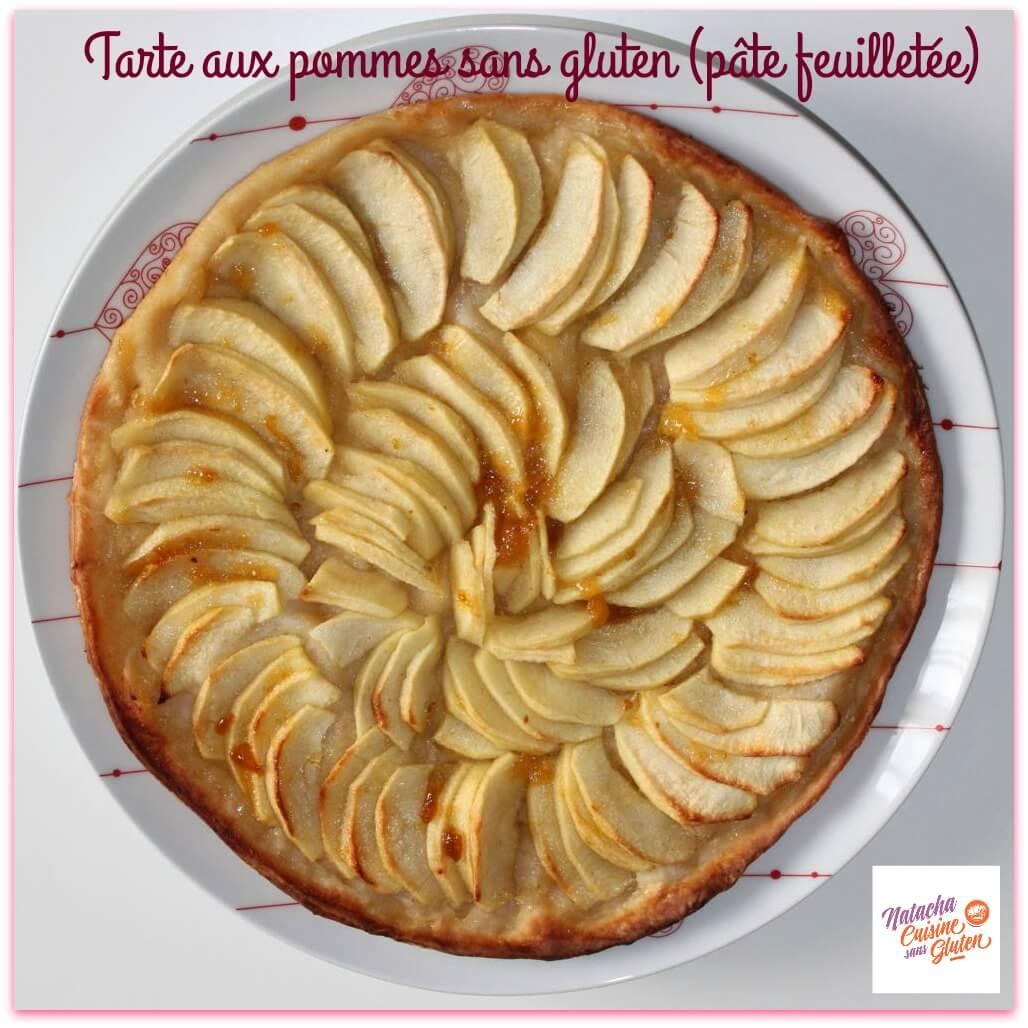Tarte aux pommes sans gluten