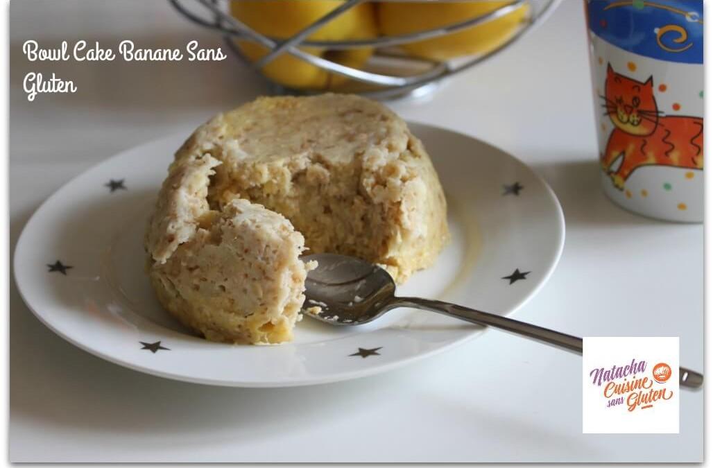 Bowl Cake Banane sans gluten