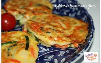 Galettes de légumes sans gluten
