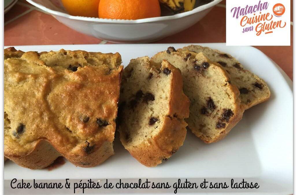 Cake bananes et pépites de chocolat sans gluten