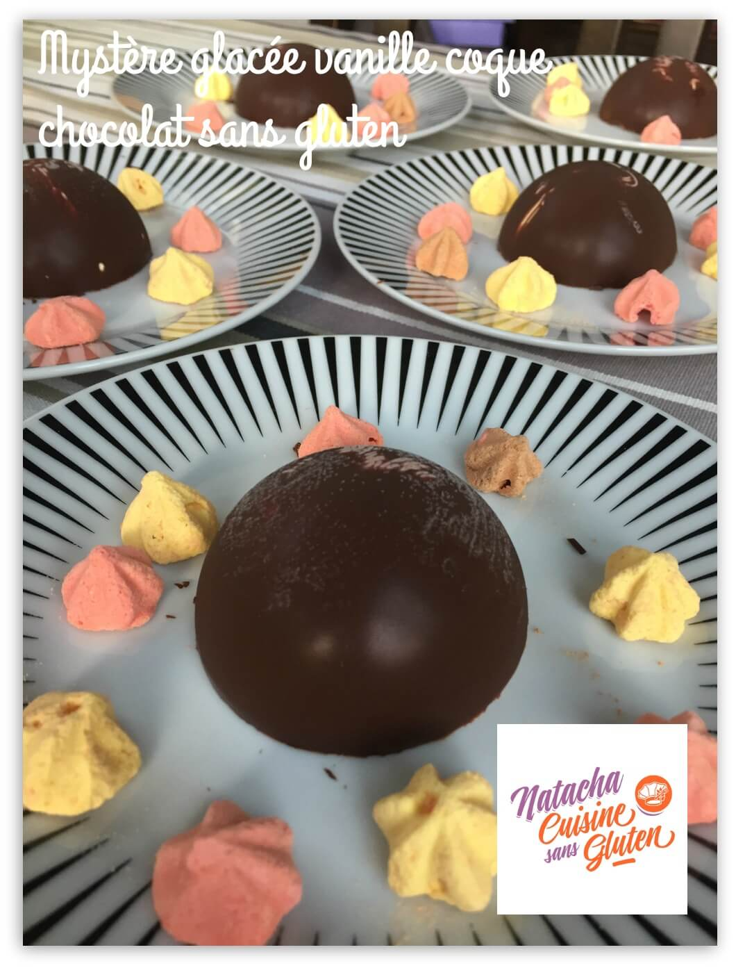 Mystères vanille coque chocolat sans gluten