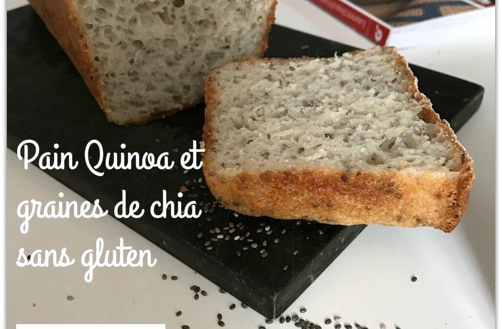 Pain quinoa et graines de chia sans gluten