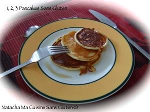 Pancakes minute sans gluten