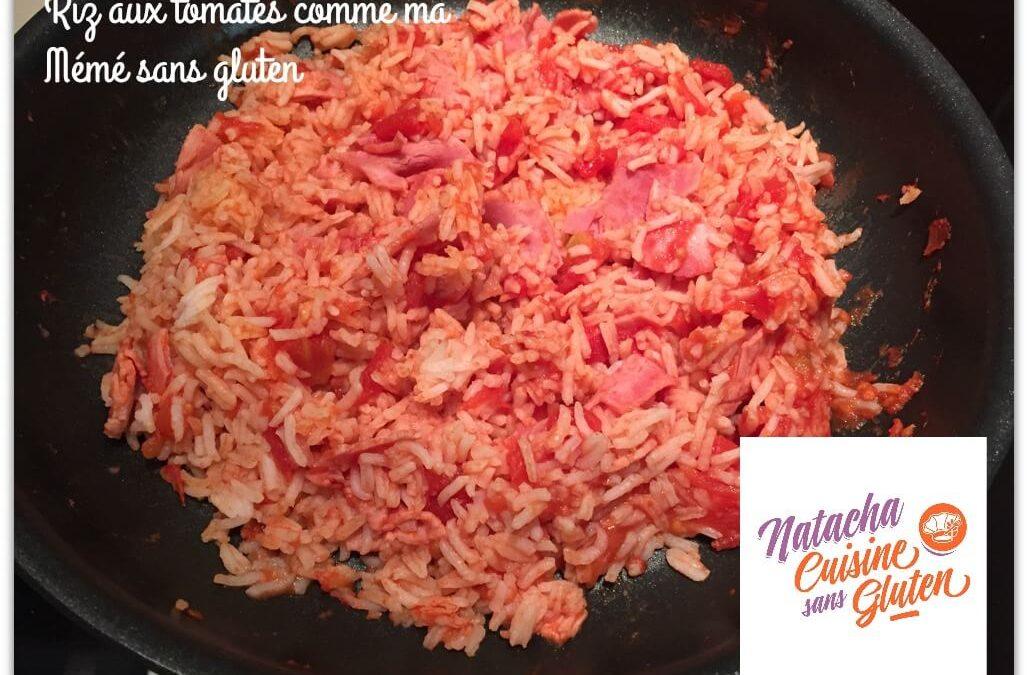 Riz aux tomates comme ma Mémé sans gluten