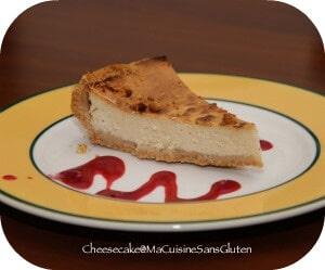 cheesecake ricotta sans gluten ma cuisine sans gluten. Black Bedroom Furniture Sets. Home Design Ideas