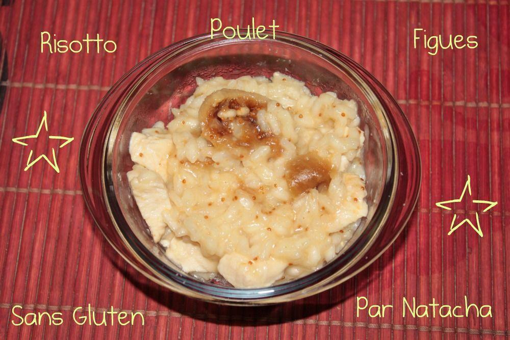 Risotto Figues Poulet sans Gluten
