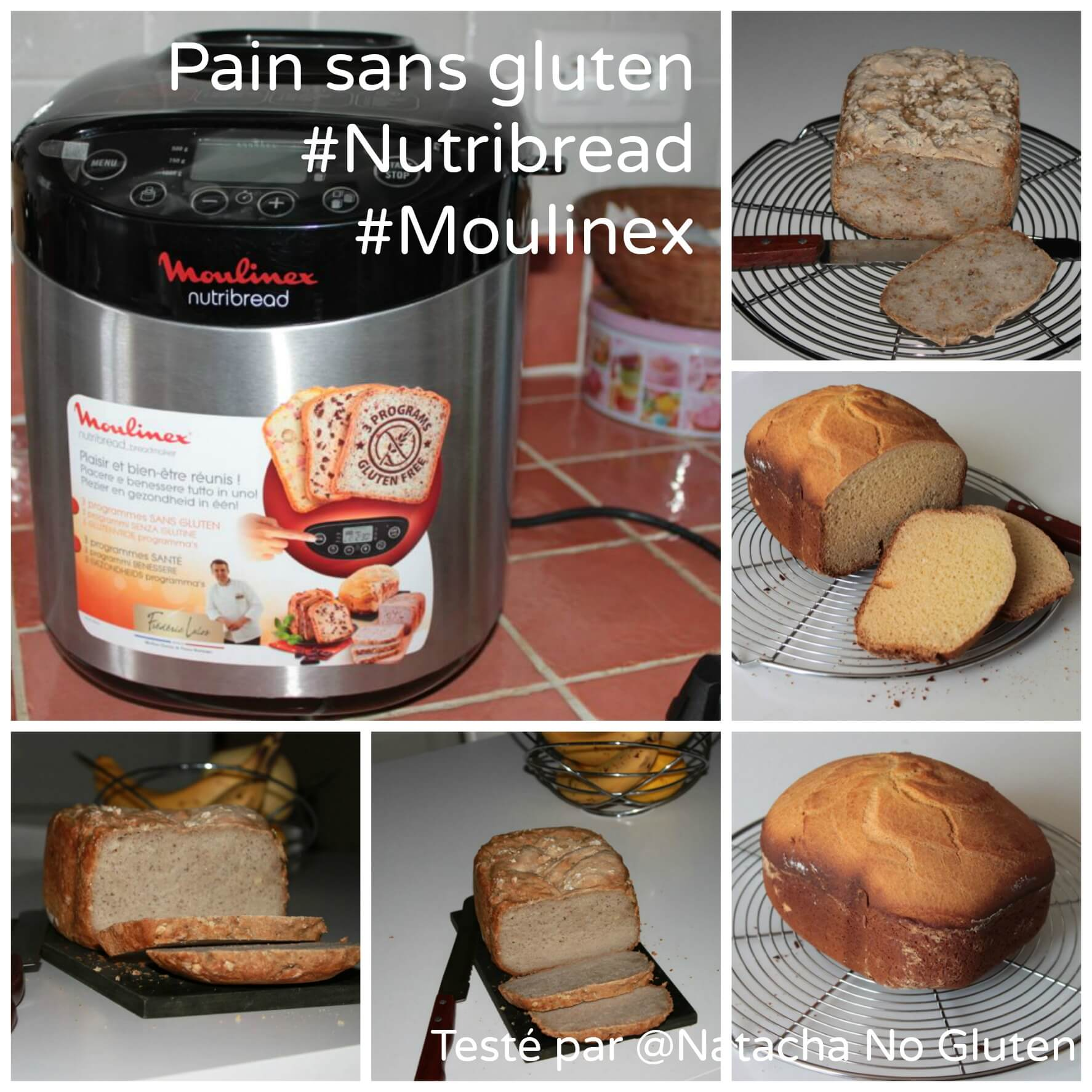 j 39 ai test la nutribread de moulinex ma cuisine sans gluten. Black Bedroom Furniture Sets. Home Design Ideas