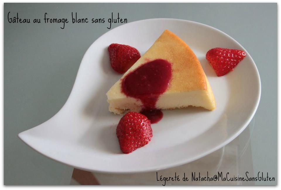 Gateau chocolat fromage blanc sans gluten