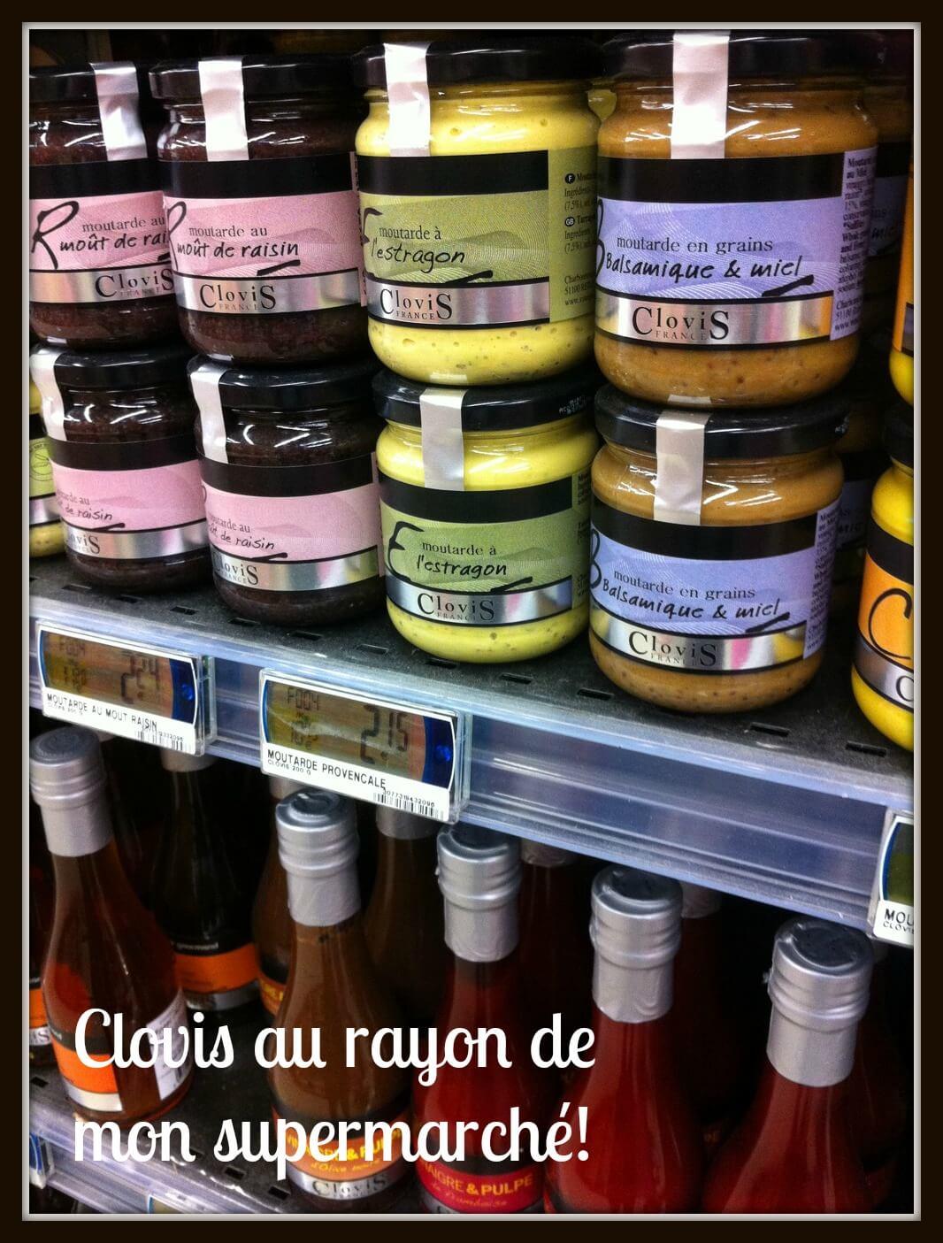A la découverte de Clovis moutarde et vinaigres