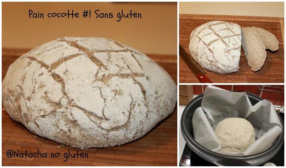 Pain cocotte sans gluten ma cuisine sans gluten - Faire du pain sans gluten ...
