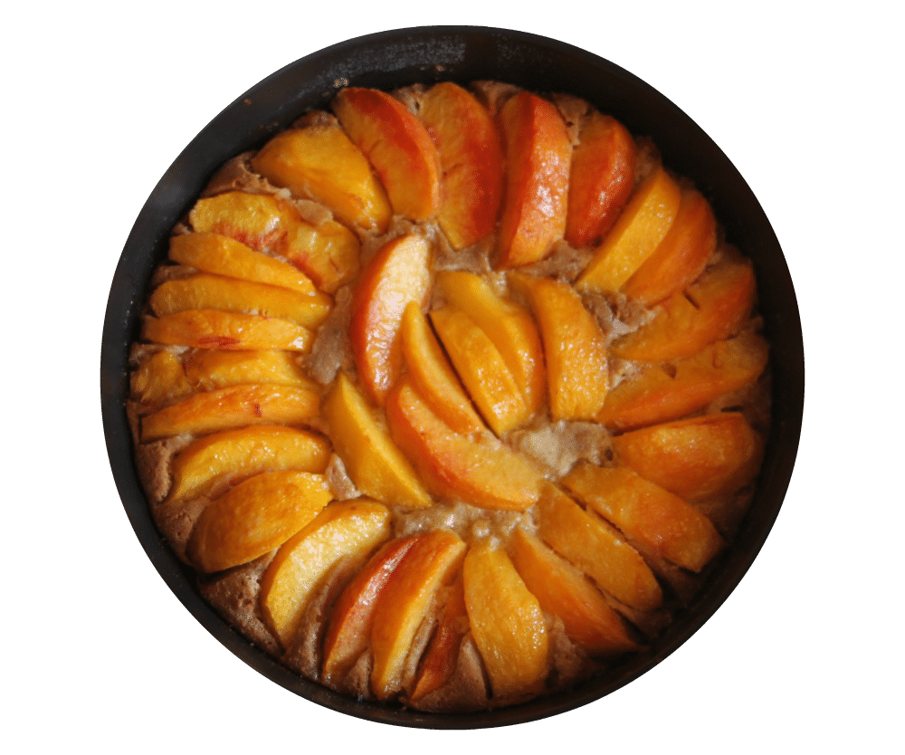 gateau-rapide-nectarines