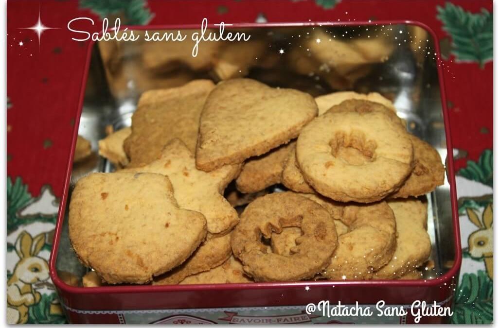 Sablés sans gluten (mix et cassonade)