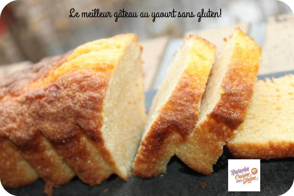 Le meilleur gâteau au yaourt sans gluten
