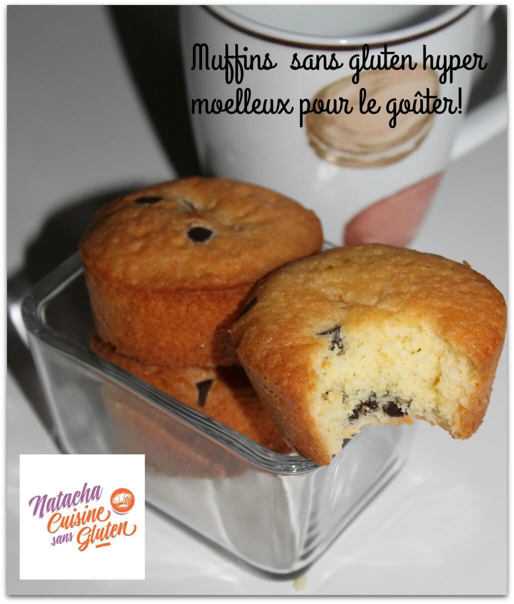 Muffins aux p pites de chocolat sans gluten mix fun cakes - Je cuisine sans gluten ...