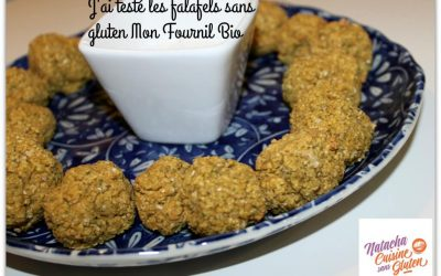 J'ai testé les falafels sans gluten Mon Fournil Bio
