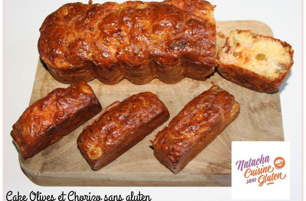 Cake Olives et Chorizo sans gluten