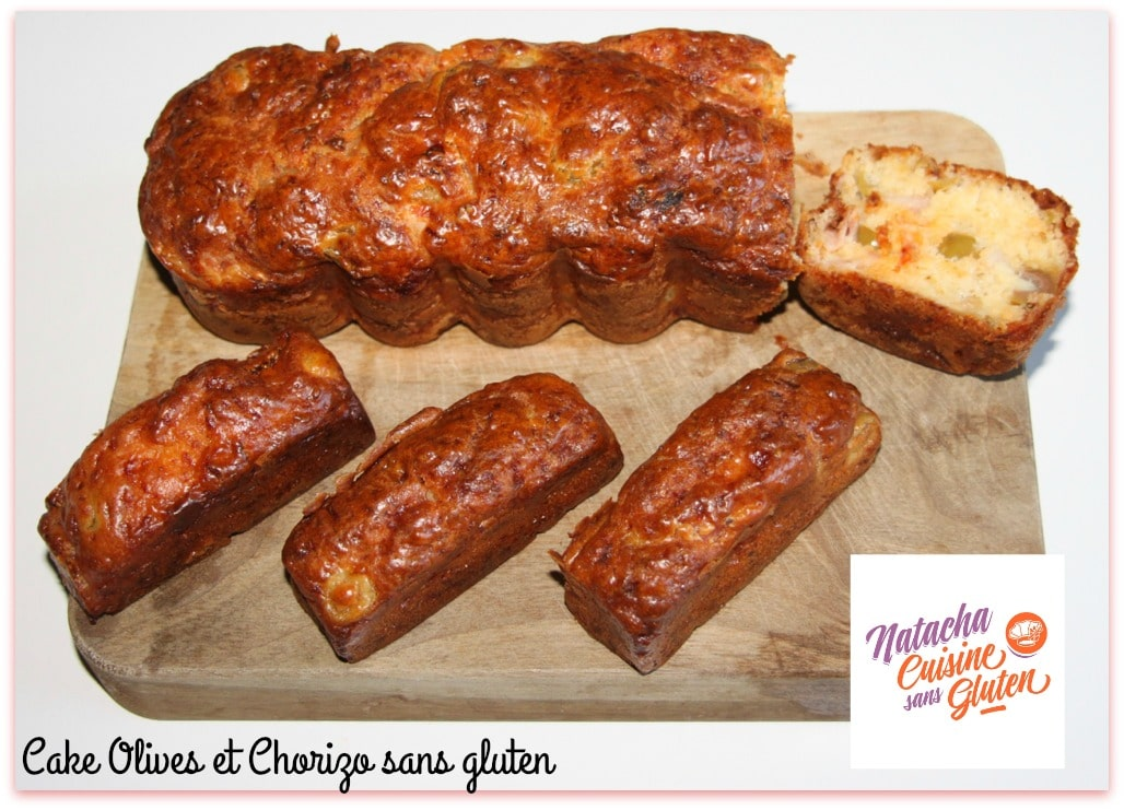 Cake Chorizo Olive Sans Gluten