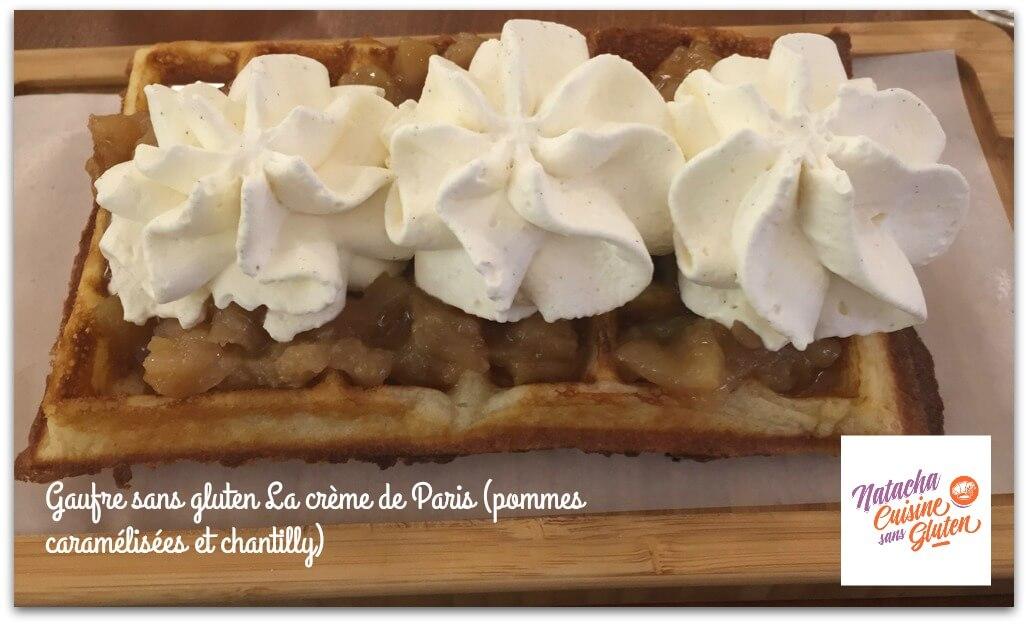 J'ai testé les gaufres sans gluten de la Crème de Paris!