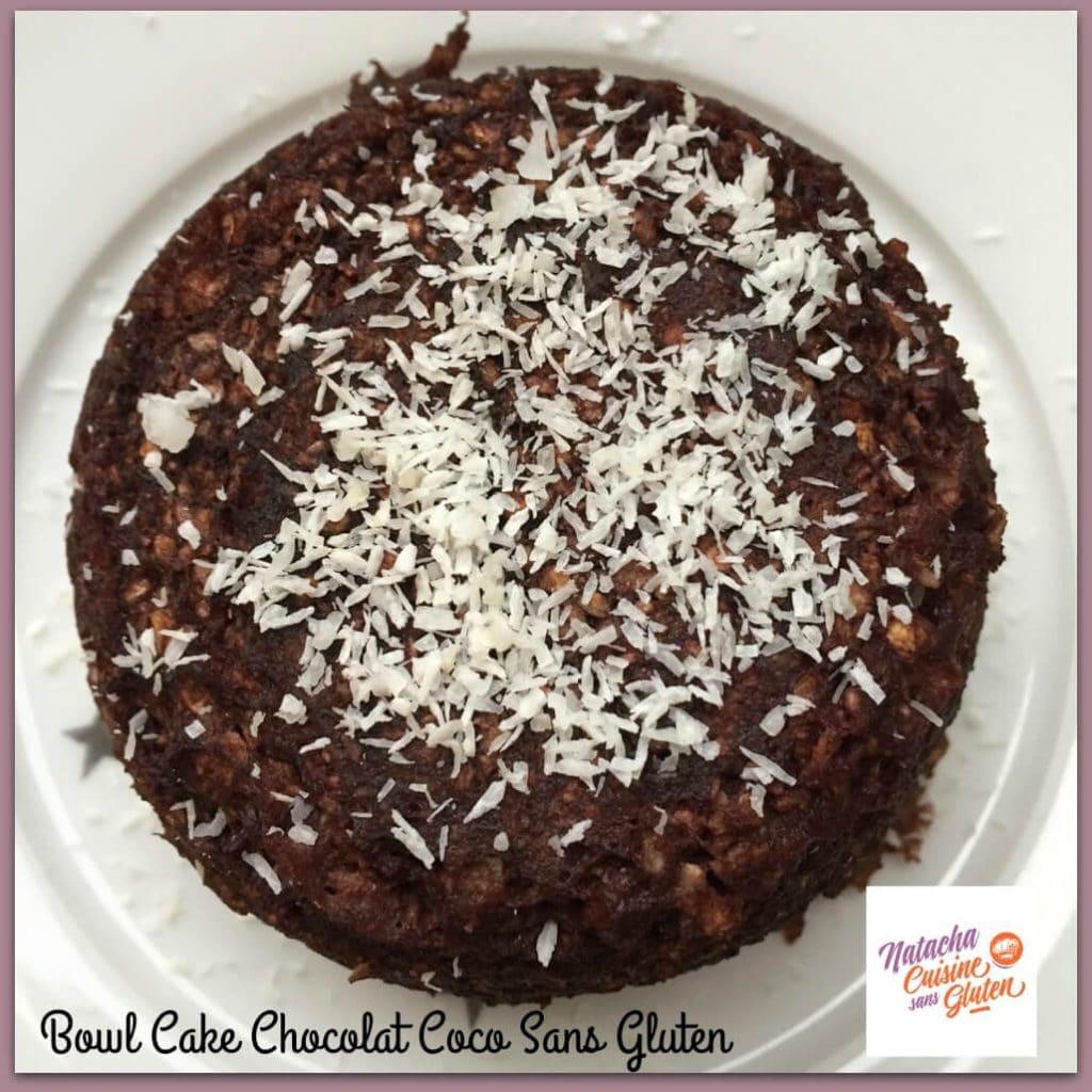 Recette Bowl Cake Chocolat Coco