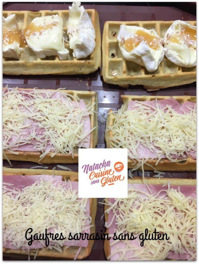 Gaufres sarrasin au four sans gluten