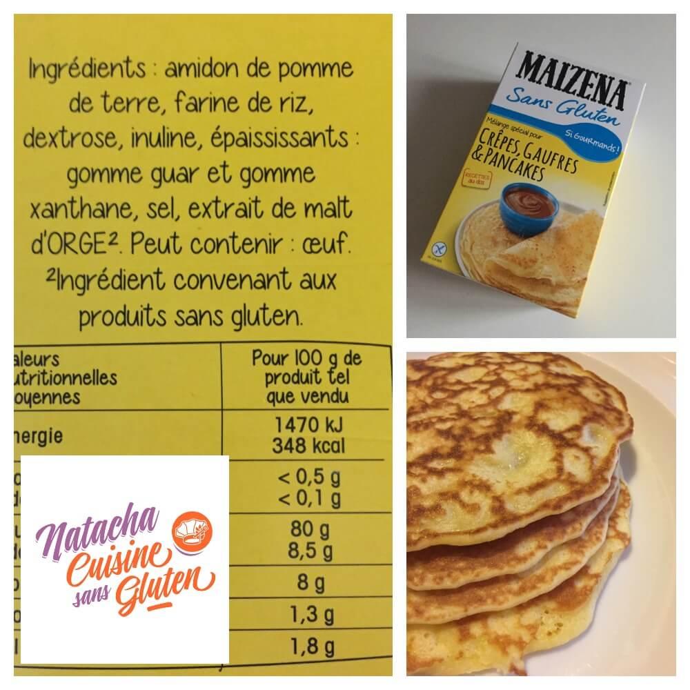 J 39 ai test la pr paration pour pancakes maizena sans - La cuisine sans gluten ...