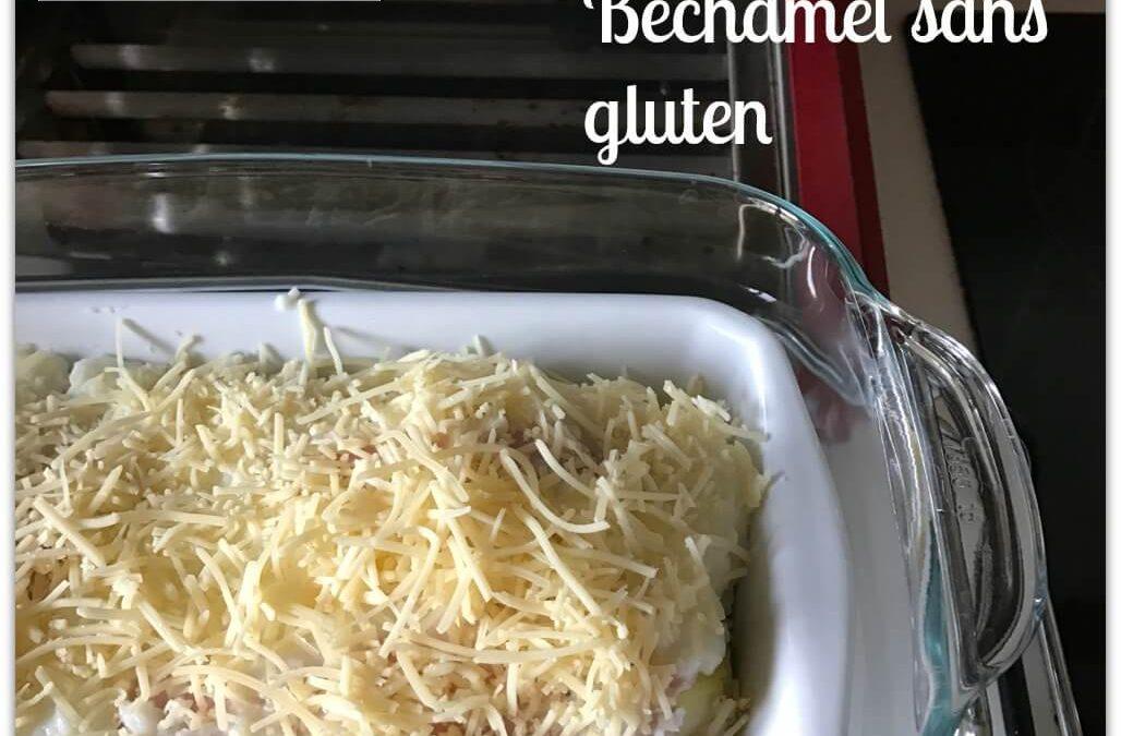 Endives au jambon et béchamel sans gluten