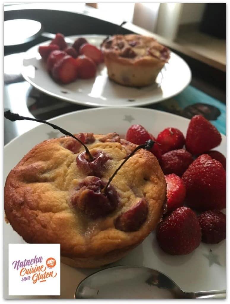 muffins aux cerises sans gluten ma cuisine sans gluten On ma cuisine sans gluten