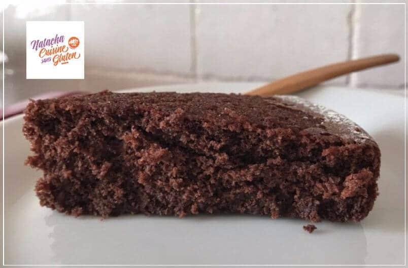 J'ai testé la préparation pour gâteau au chocolat sans gluten (Maïzena)
