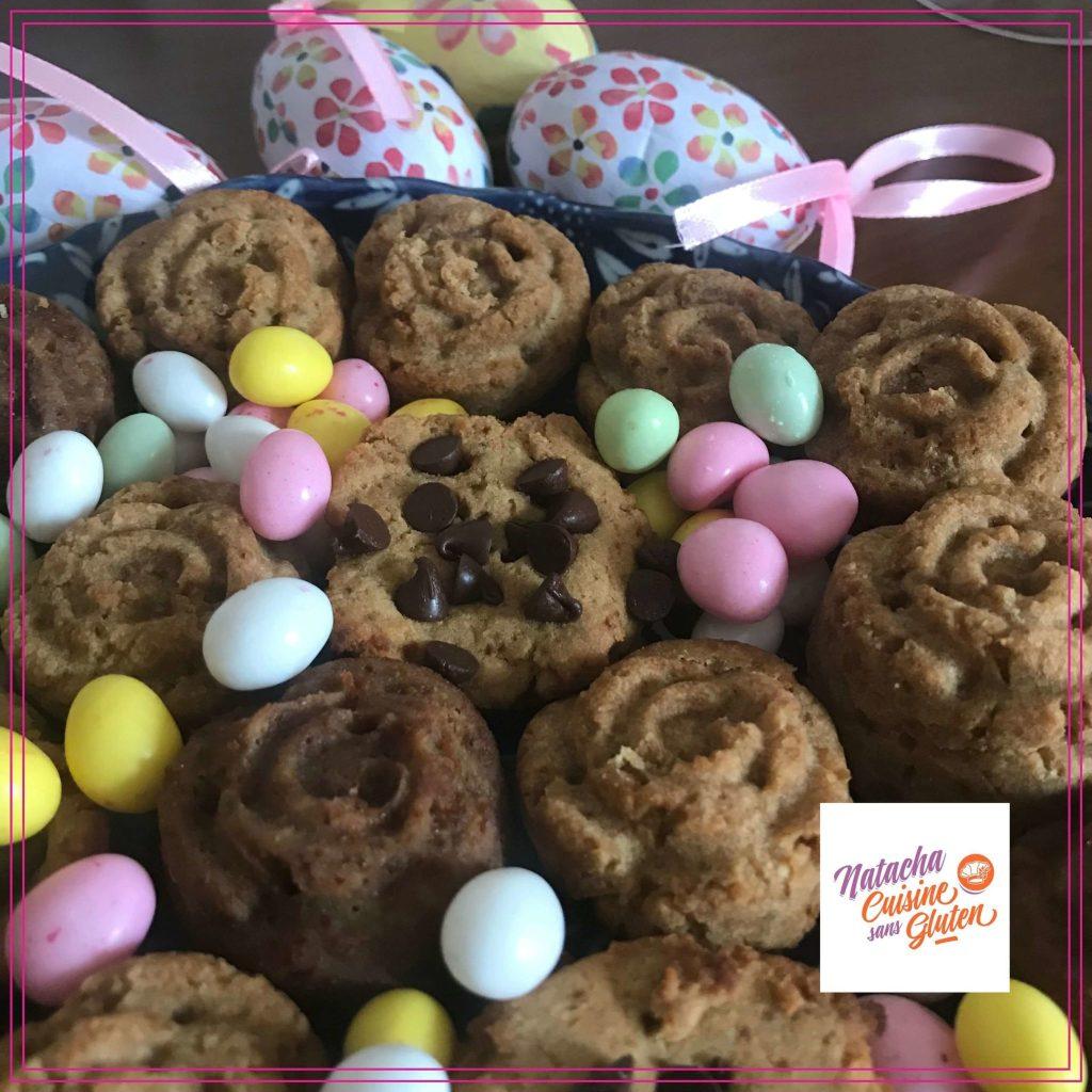 biscuits coco chocolat sans gluten